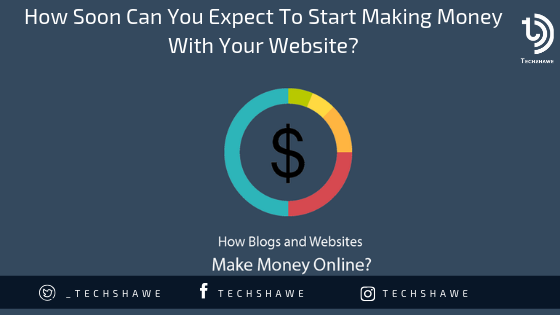 How Soon Can You Expect To Start Making Money With Your Website?