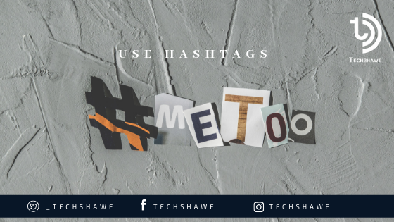 use instagram hashtags
